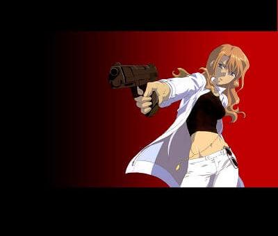 Gun Action Anime