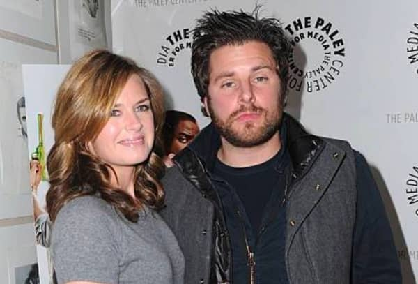 James Roday and ex girlfriend Maggie Lawson